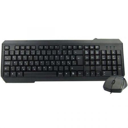 Kolink KB64U01 fekete billentyűzet + optikai egér szett KB64U01