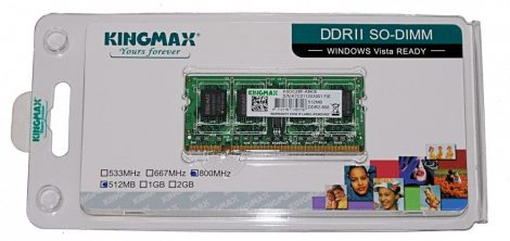 Kingmax KSDC28F-A8KI5 512MB DDR2 800MHz Notebook RAM