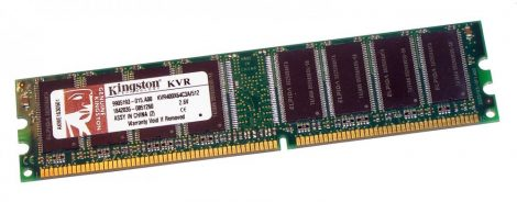 Kingston 512 MB 400MHz PC3200 DDR CL3 DIMM RAM KVR400X64C3A/512