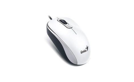 Genius DX110 USB fehér egér (31010116109)