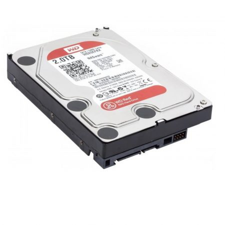 HDD WD Red WD20EFRX 2TB/8,9/600 Sata III 64MB (D)