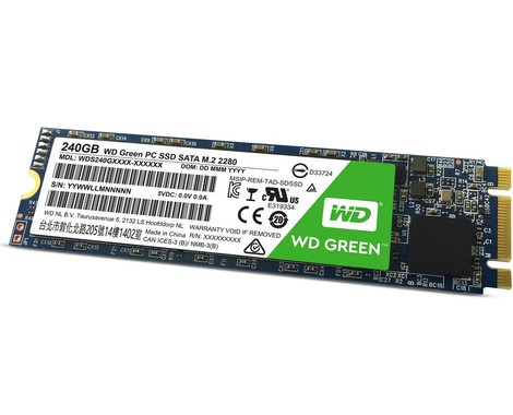 Western Digital Green 240GB M.2 WDS240G1G0B SSD