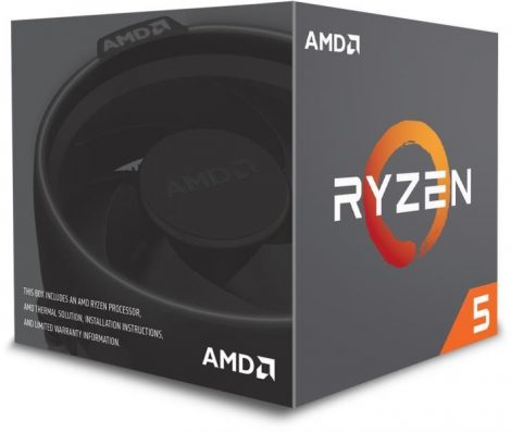 AMD Ryzen 5 1400 Box AM4 (3,200GHz) YD1400BBAEBOX with Wraith Stealth cooler