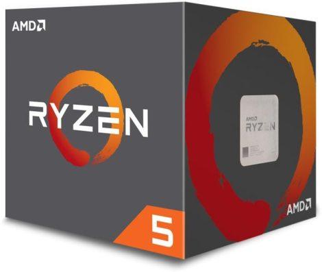 AMD Ryzen 5 1600 Box AM4 (3,200GHz) YD1600BBAEBOX with Wraith Spire cooler