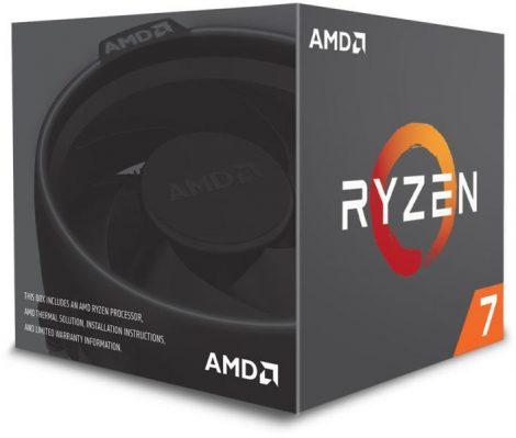 AMD Ryzen 7 1700 Box AM4 (3,000GHz) YD1700BBAEBOX with Wraith Spire cooler