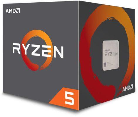 AMD Ryzen 5 2600 Box AM4 (3,900GHz) YD2600BBAFBOX with Wraith Stealth cooler