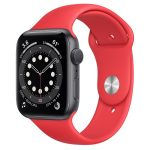 Watch Apple Watch Series 6 GPS 44mm Red Aluminum Case with Sport Band Red
