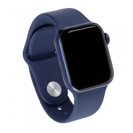 Watch Apple Watch Series 6 GPS 44mm Blue Aluminium Case with Sport Band ep Navy