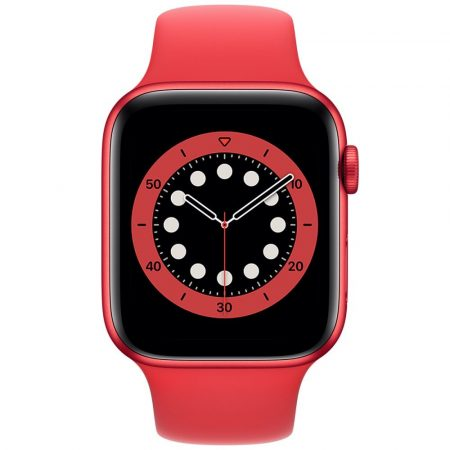 Watch Apple Watch Series 6 GPS 44mm Red Aluminium Case with Sport Band Red