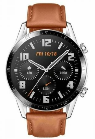 Watch Huawei Watch GT 2 Classic 46mm Leather Brown